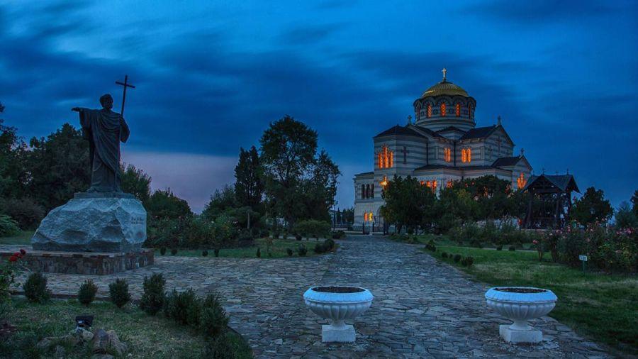 Владимирский собор в Херсонесе фото