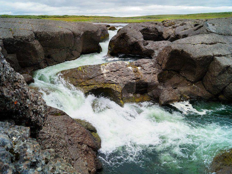 Водопад Буредан фотография
