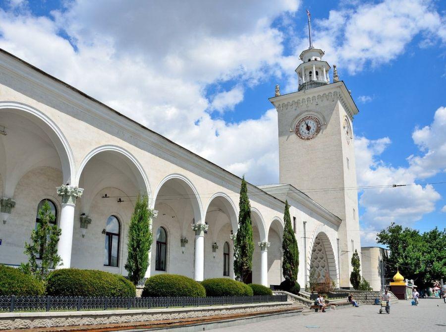 Вокзал Симферополь-Пассажирский фото