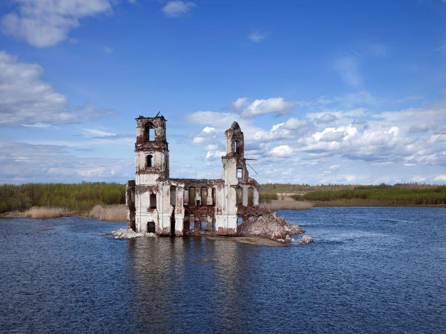 Фото церковь Иисуса в Вологодской области
