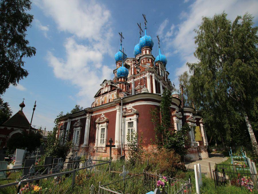 Казанская церковь в Вологодской области фото