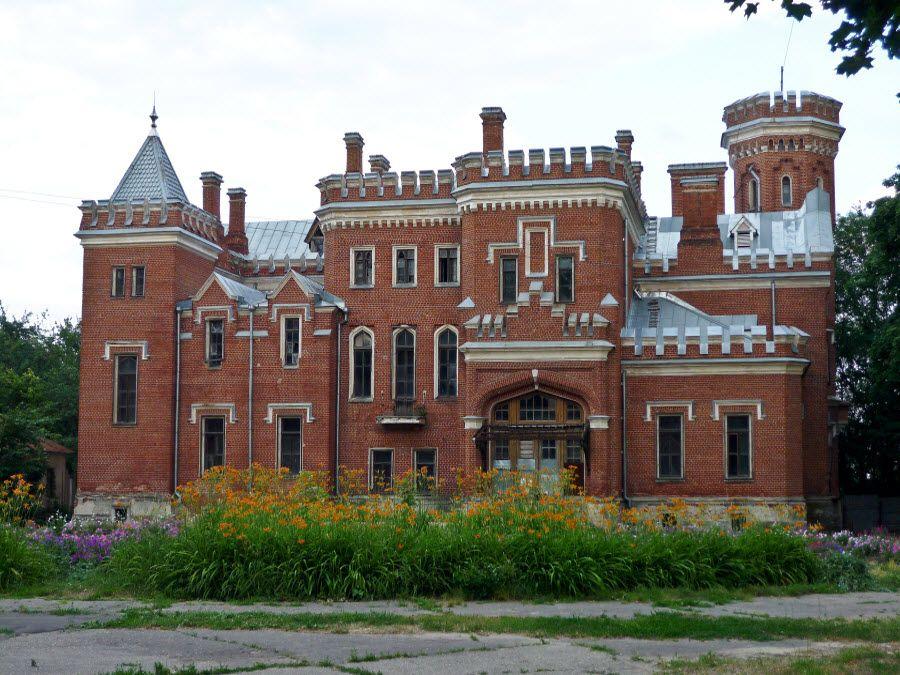 Замок принцессы Ольденбургской в Воронежской области фото