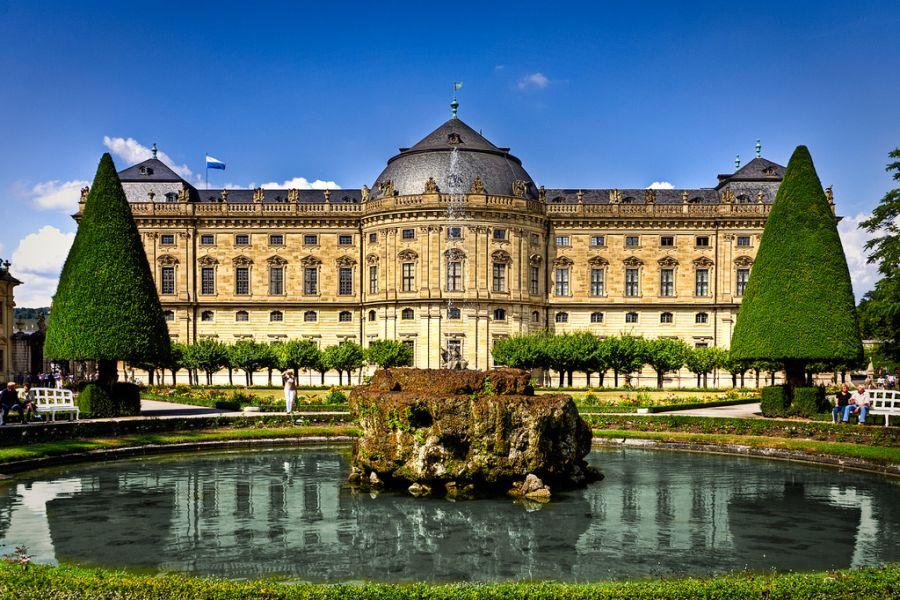 Вюрцбургская резиденция фото