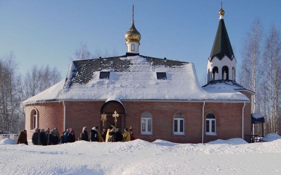 Храм в честь Ярославской иконы Божией Матери фото