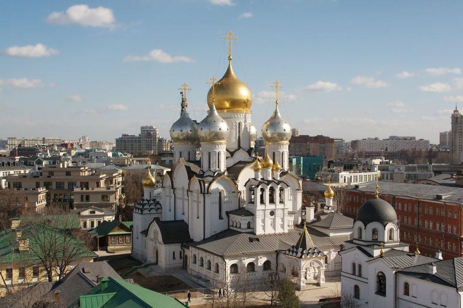 Зачатьевский монастырь фото