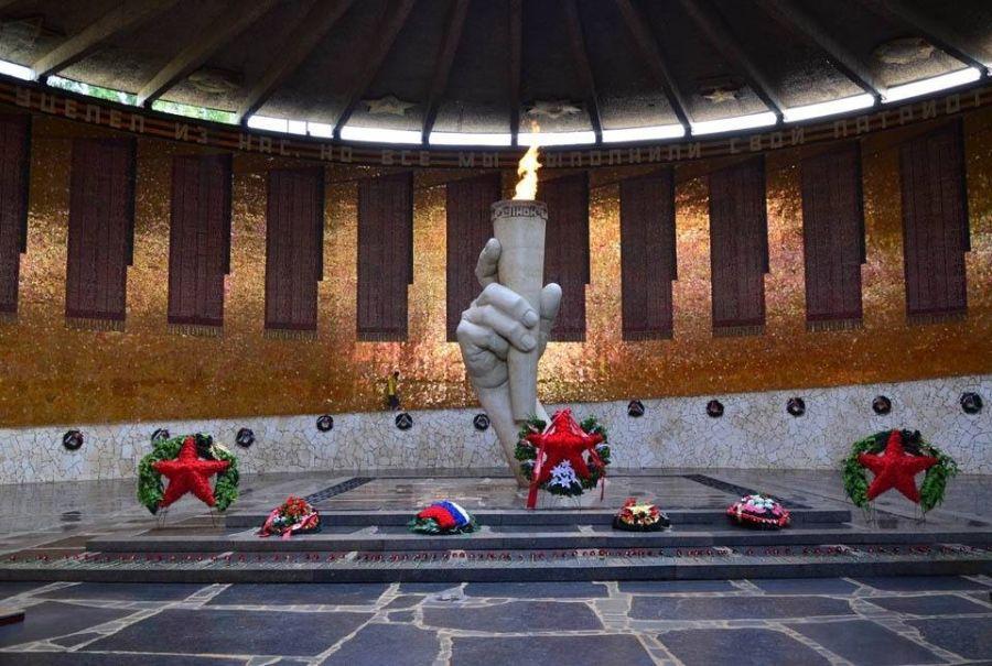 Зал воинской славы на Мамаевом Кургане фото