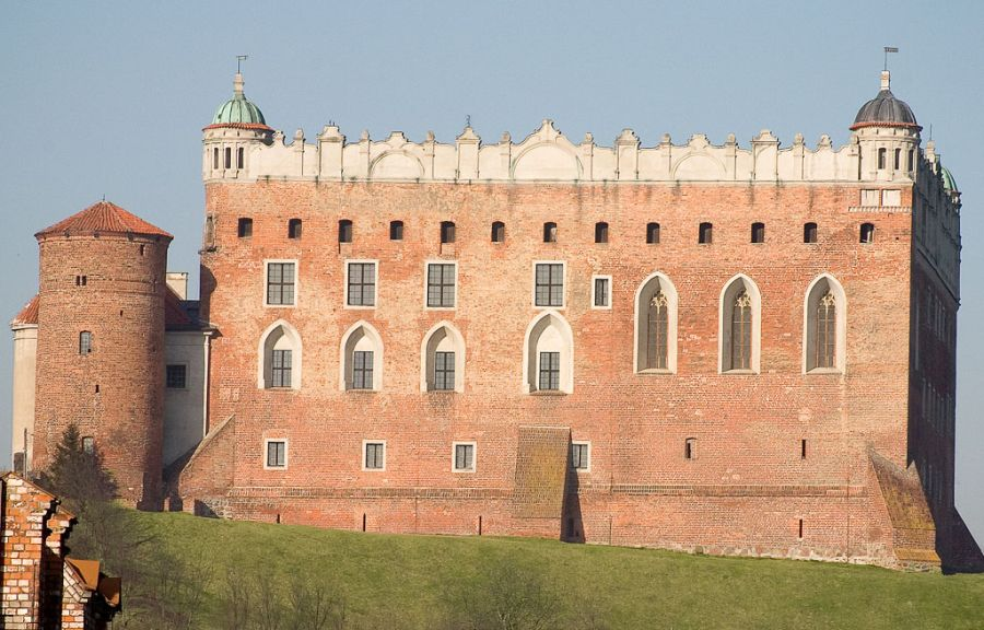 Замок Голюб-Добжинь фото