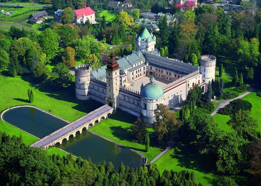 Замок Красицких фото