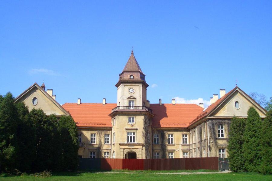 Замок Тарновских фото