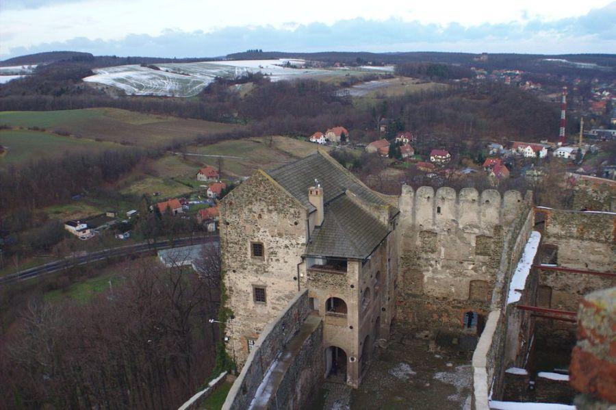 Замок в Болькуве фото