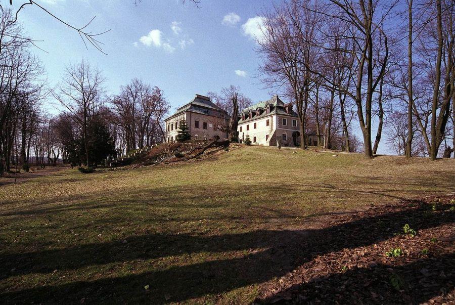 Замок в Хлевиске фото