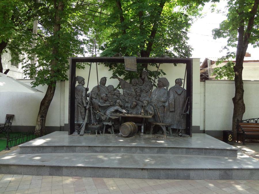 Фотография Запорожцы пишут письмо турецкому султану