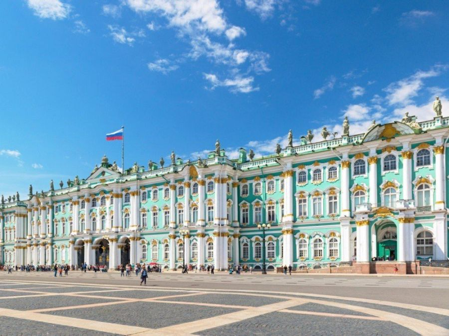 Зимний дворец фото