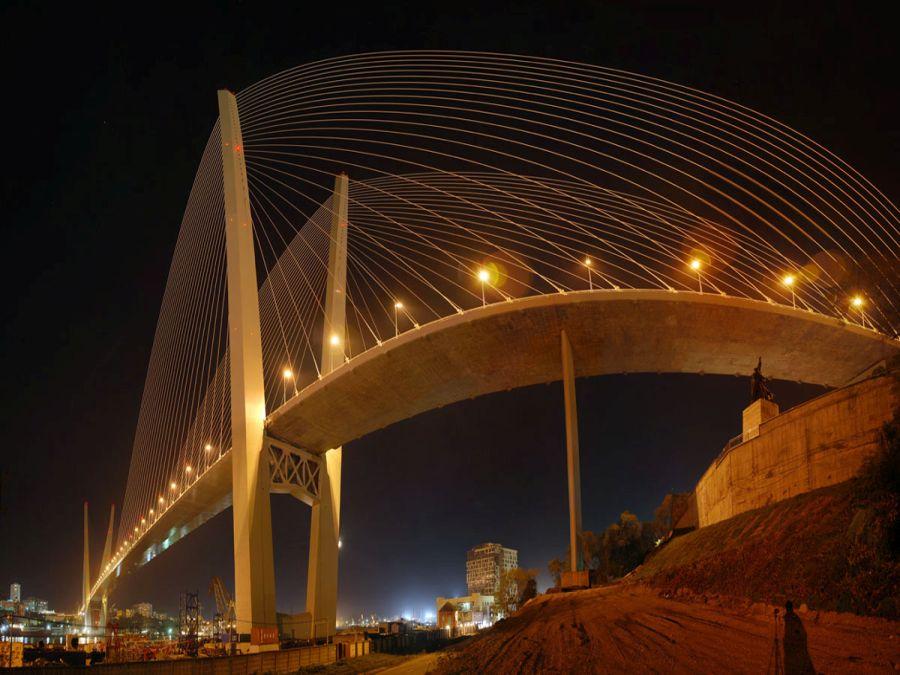Золотой мост фото