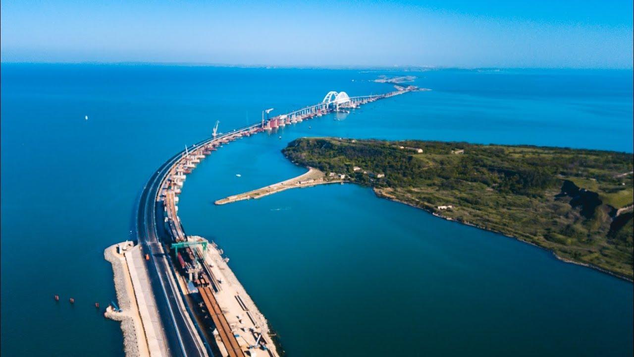 крымский мост аеросъемка