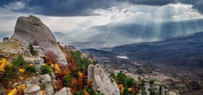 15 места силы россия Гора Демерджи в Крыму