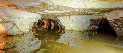 28 места силы россия Саблинские пещеры в поселке Ульяновка