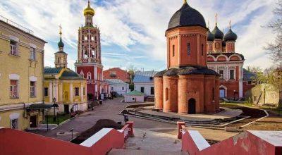 8 места силы россия Высоко-Петровский монастырь
