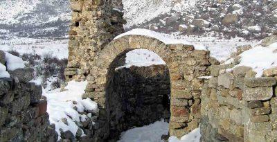 Алушта Крепость Фуна зимой
