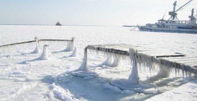 Евпатория и её окрестности зимой
