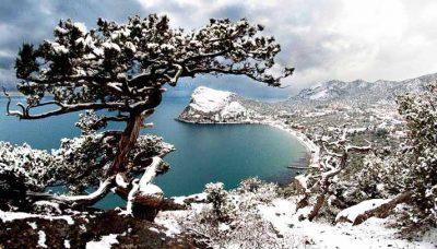 Феодосия и её окрестности зимой