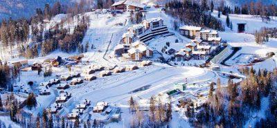 газпром горнолыжный курорт
