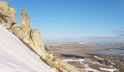 Гора Коклюк зимой