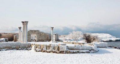 Херсонес зимой