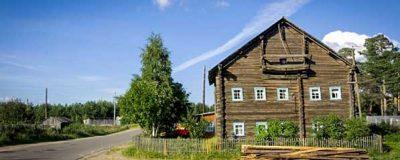 карелия Деревня Рубчойла