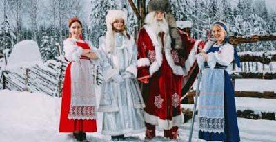 карелия Резиденция карельского Деда Мороза
