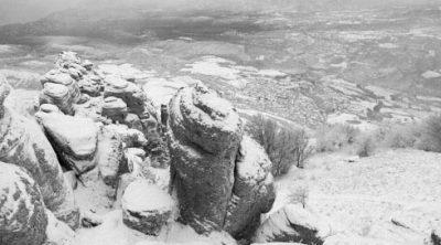 крым долина привидений зимой