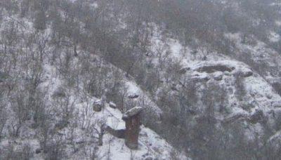 крым Долина Сотеры зимой