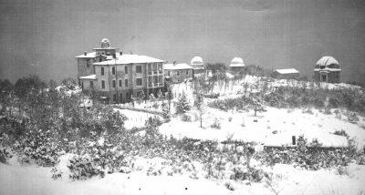 Крымская астрофизическая обсерватория РАН зимой
