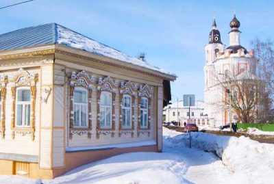 Нерехта зимой россия