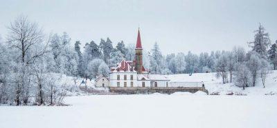 петербург Гатчина зимой