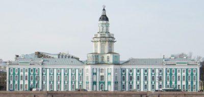 петербург Кунсткамера зимой