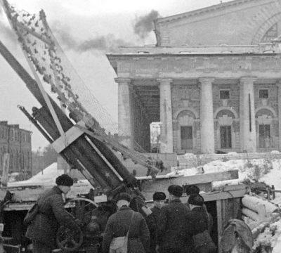 петербург музей обороны Ленинграда зимой
