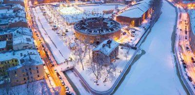 петербург Новая Голландия зимой