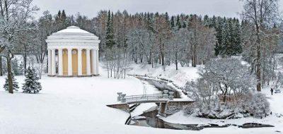 петербург Павловск зимой