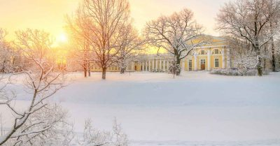 петербург Пушкин зимой