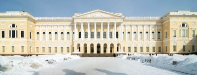 петербург Русский музей зимой