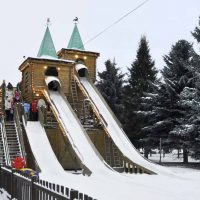 петербург Южно-Приморский парк зимой