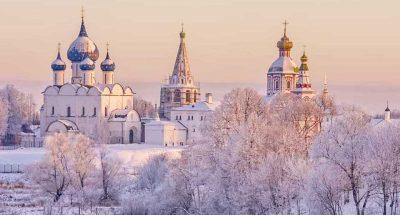Суздаль зимой россия