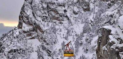 ялта Развлечения на горном плато зимой