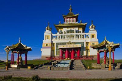 Дацан «Золотая обитель Будды Шакьямуни» в Элисте