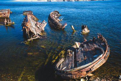 Кладбище деревянных кораблей